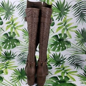 Lucky Brand Shoes - Lucky Brand LK-Oryan knee-length mismatched boots